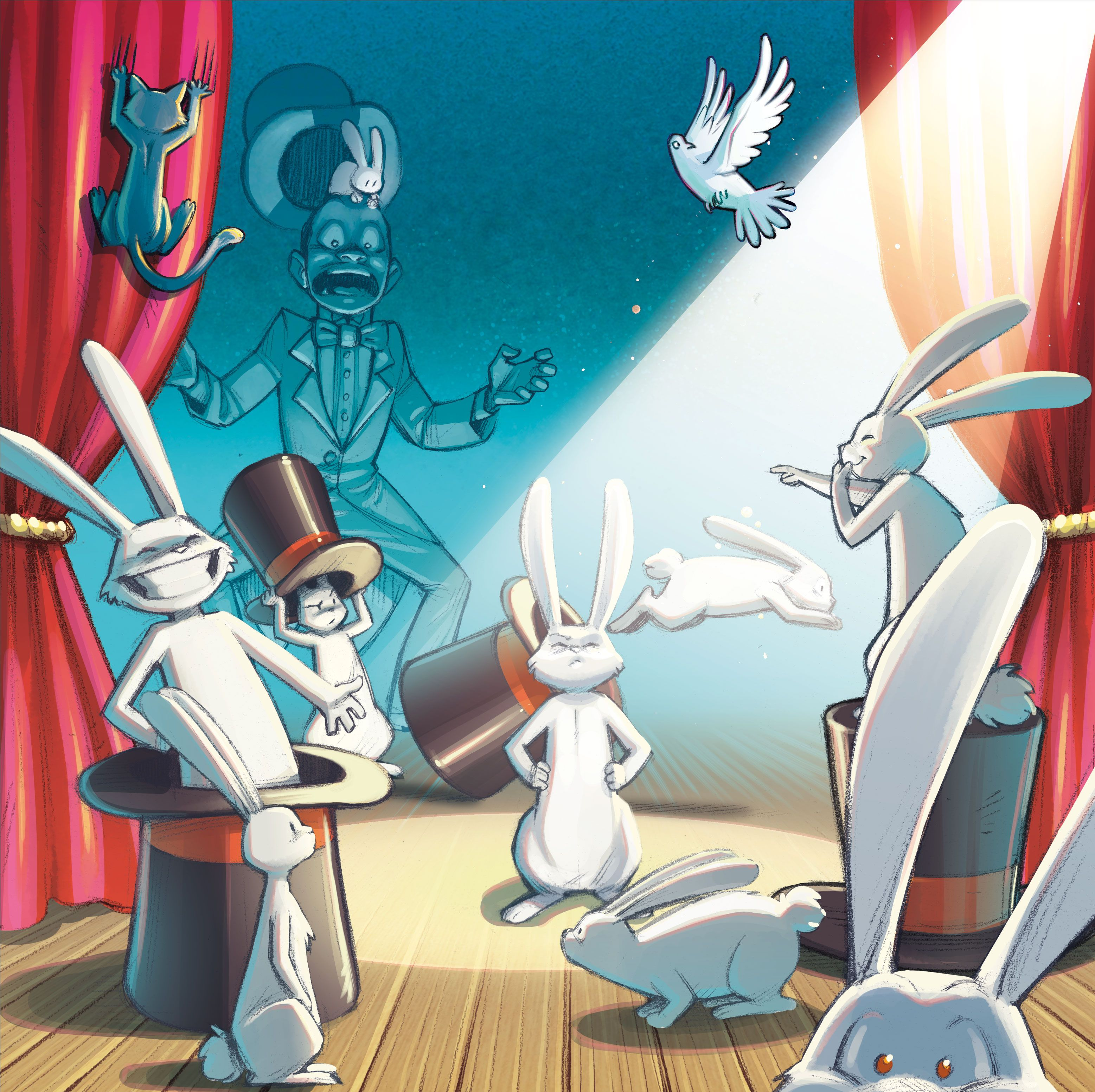 Magic Rabbit, visuel © Lumberjacks Studio