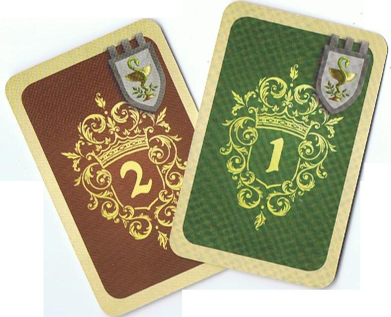 Majesty, le dos des cartes Personnage © Hans im Glück / Heidsieck / André