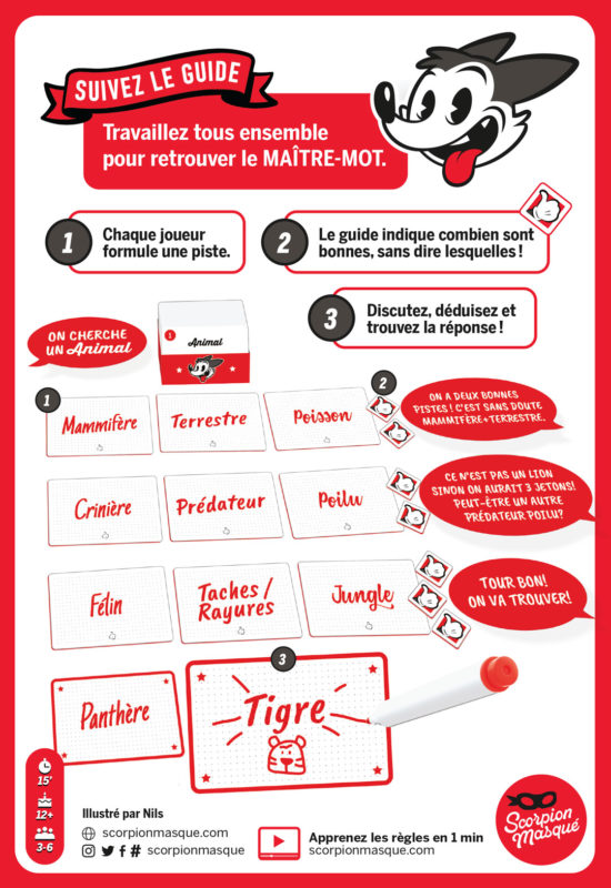 Master Word, l'explication © Le Scorpion Masqué