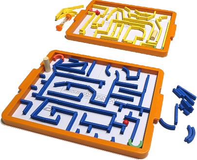 Maze Racers, aperçu du matériel © Foxmind
