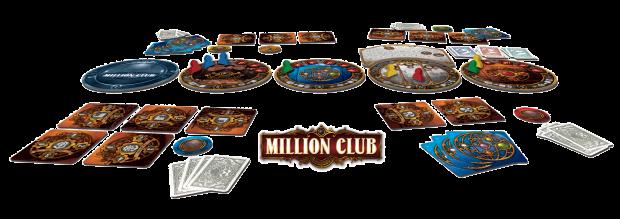Million Cub, aperçu du matériel © Playad Games / Quidault / Ladagnous