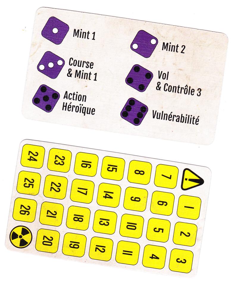 Mint Cooperative, Panique et Carte Mémoire © Lucky Duck Games