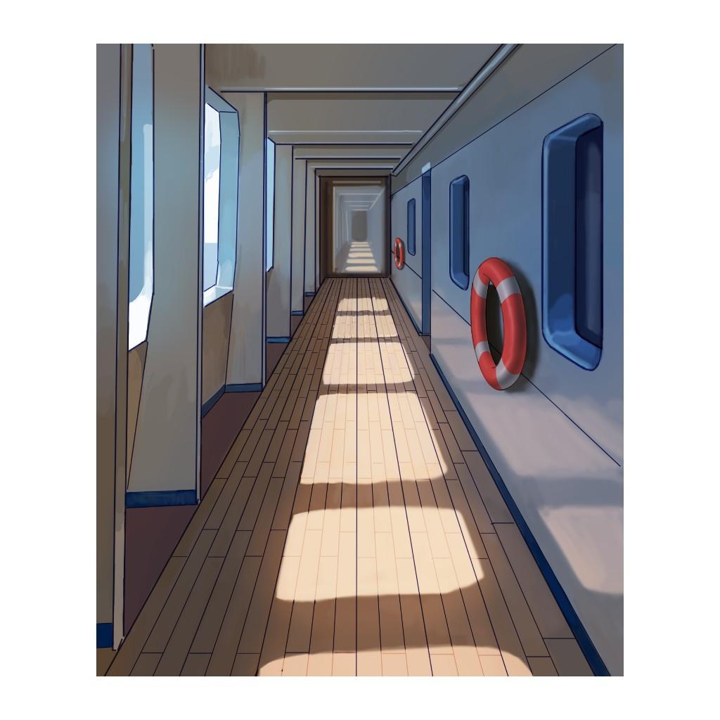Minuit Meurtre en Mer, illustration © Multifaces Editions