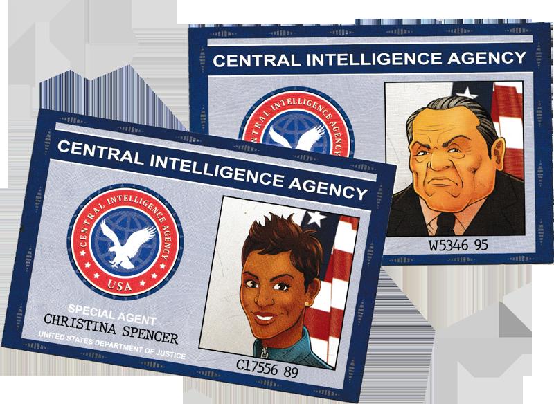 Mission Calaverasn, les agents du CIA © Gigamic / Auger / Kermarrec