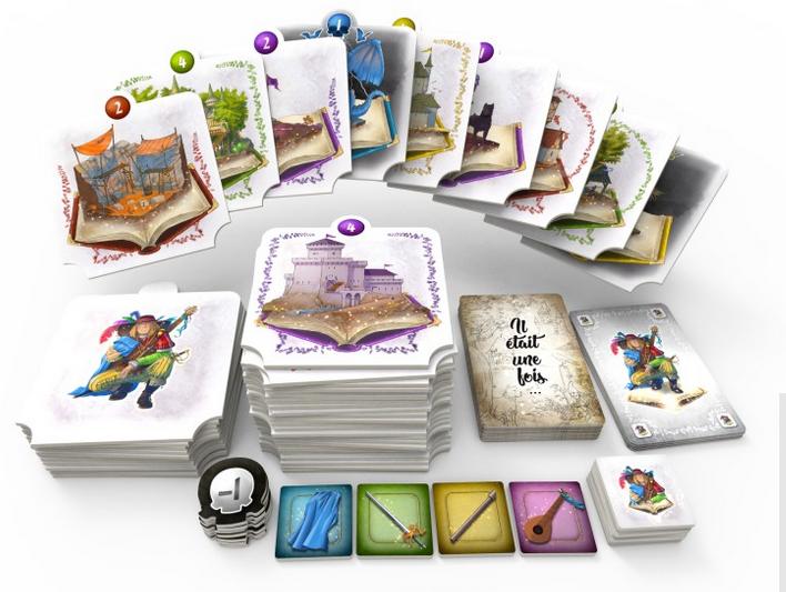 Mon Royaume Pour Un Conte, aperçu du matériel ©  Sweet Games