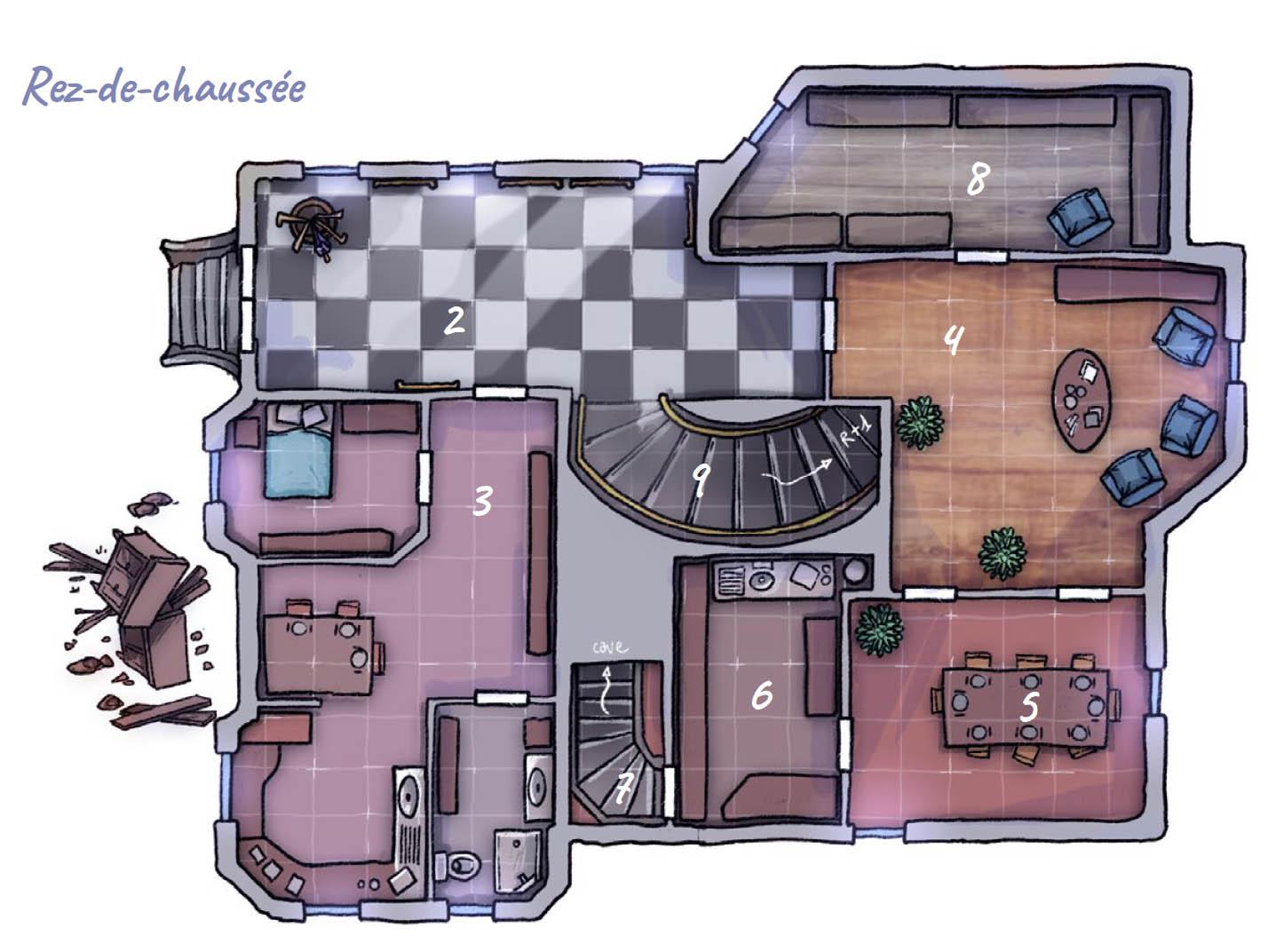 Monstres - Initiation au jeu d'Aventures, préparer ses plans © Black Book / Sfar / Bernasconi / Lhomme