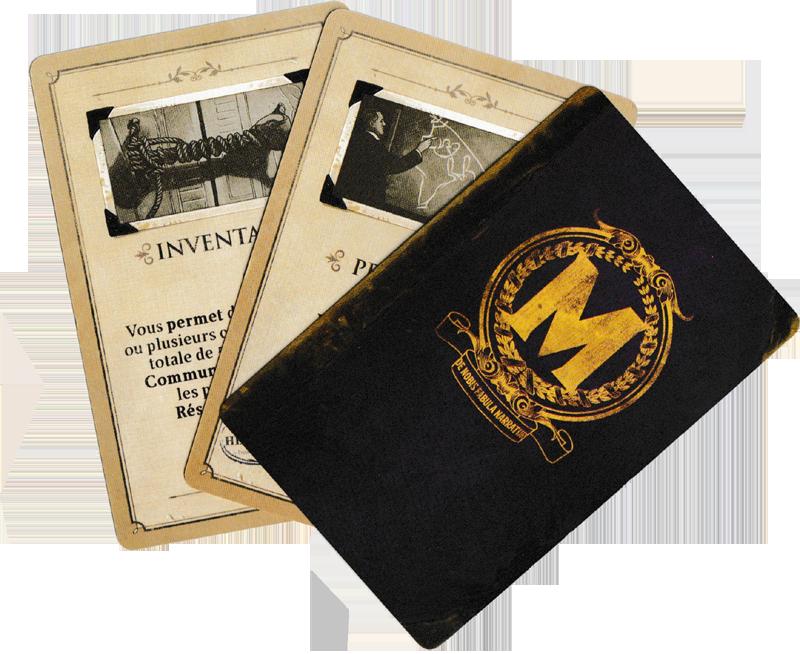 Museum, cartes Faveur © Holy Grail Games / Dutrait / Dubus / Mélison