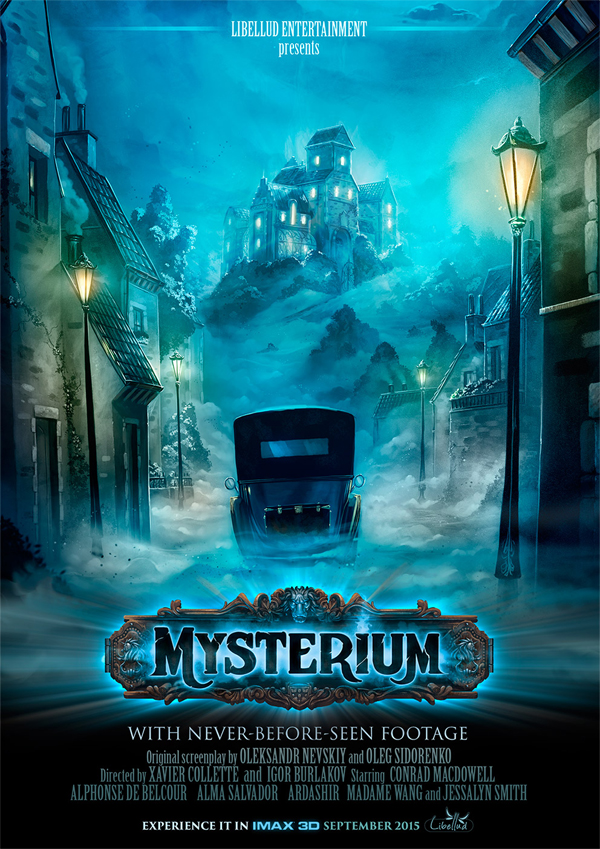 Mysterium, l'affiche © Libellud