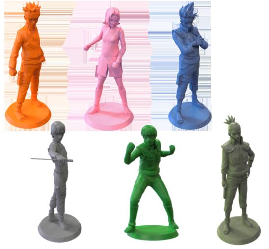 Naruto Shippuden, les figurines des héros © Yoka