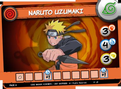 Naruto Shippuden, carte Personnage © Yoka