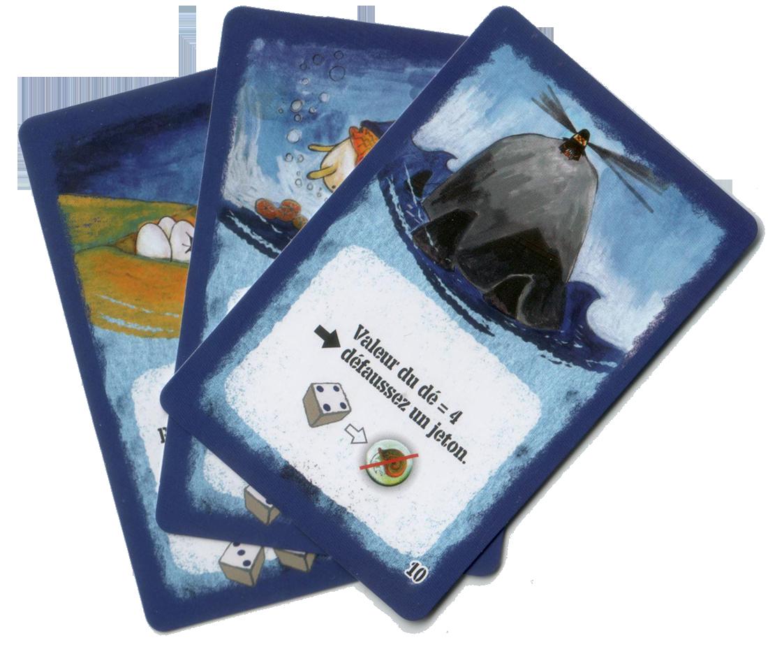 Nautilion, quelques cartes d'une des extensions © Filosofia / Plessis / Torbey