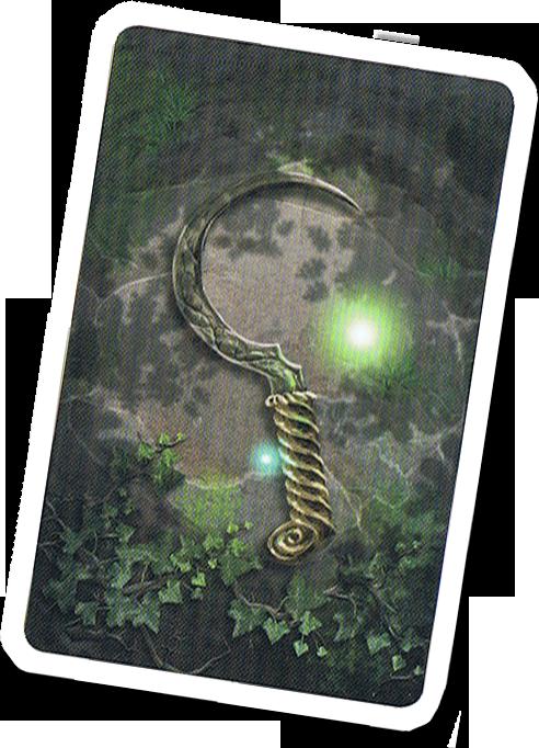 Nemeton, le verso des cartes Potion © Blam! / Ann & Seb / Favazzo