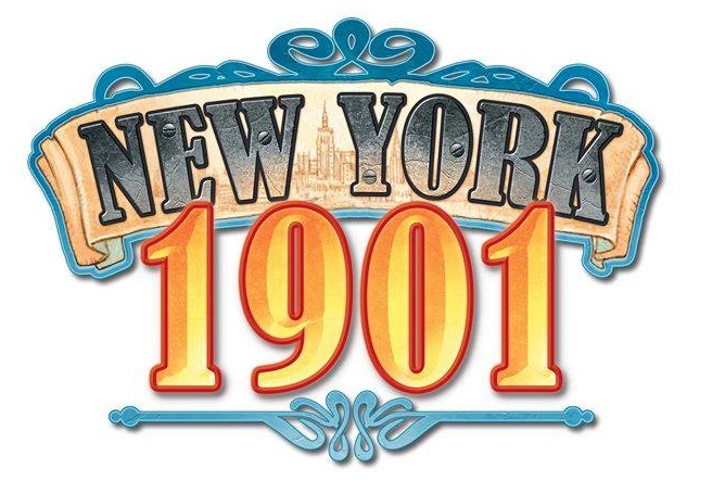 New York 1901, le logo © Blue Orange Games / Dutrait