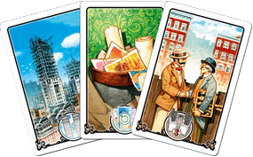 New York 1901, cartes Action © Blue Orange Games / Dutrait