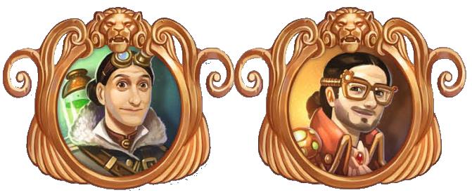 Océanos, deux aventuriers ludiques (les auteurs) © Iello / Fleury / Bauza