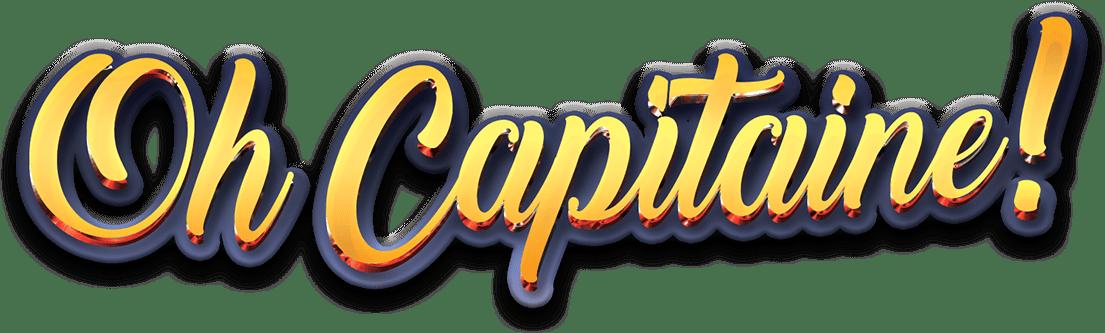 Oh Capitaine!, le logo du jeu © Ludonaute