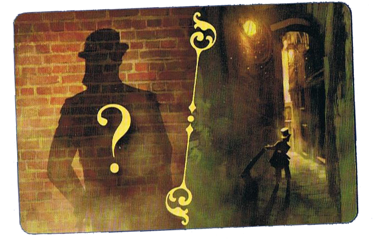 Oliver Twist, le (superbe) dos des cartes Personnage © Purple Brain / Chalmel / Cathala / Pauchon
