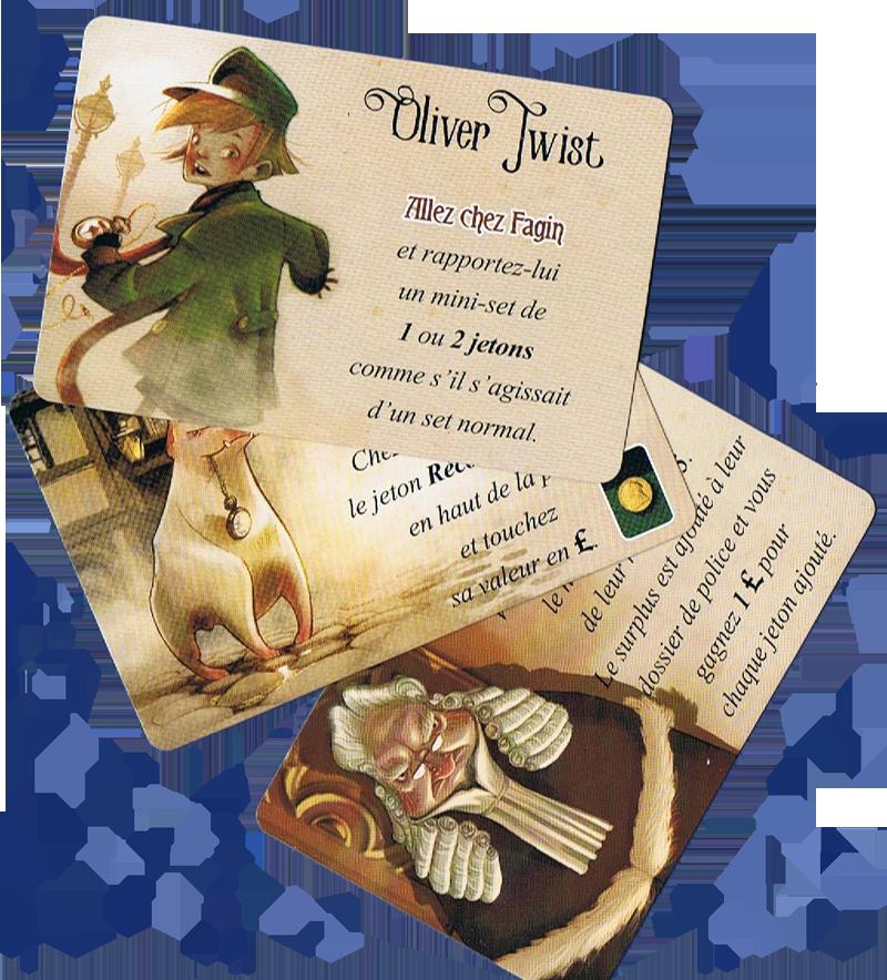 Oliver Twist, quelques Personnage © Purple Brain / Chalmel / Cathala / Pauchon