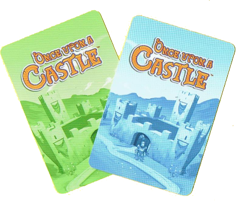 Once Upon a Casttle, l'envers des cartes © Blue Orange