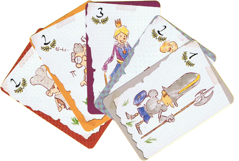 Once Upon a Casttle, cartes Invités © Blue Orange