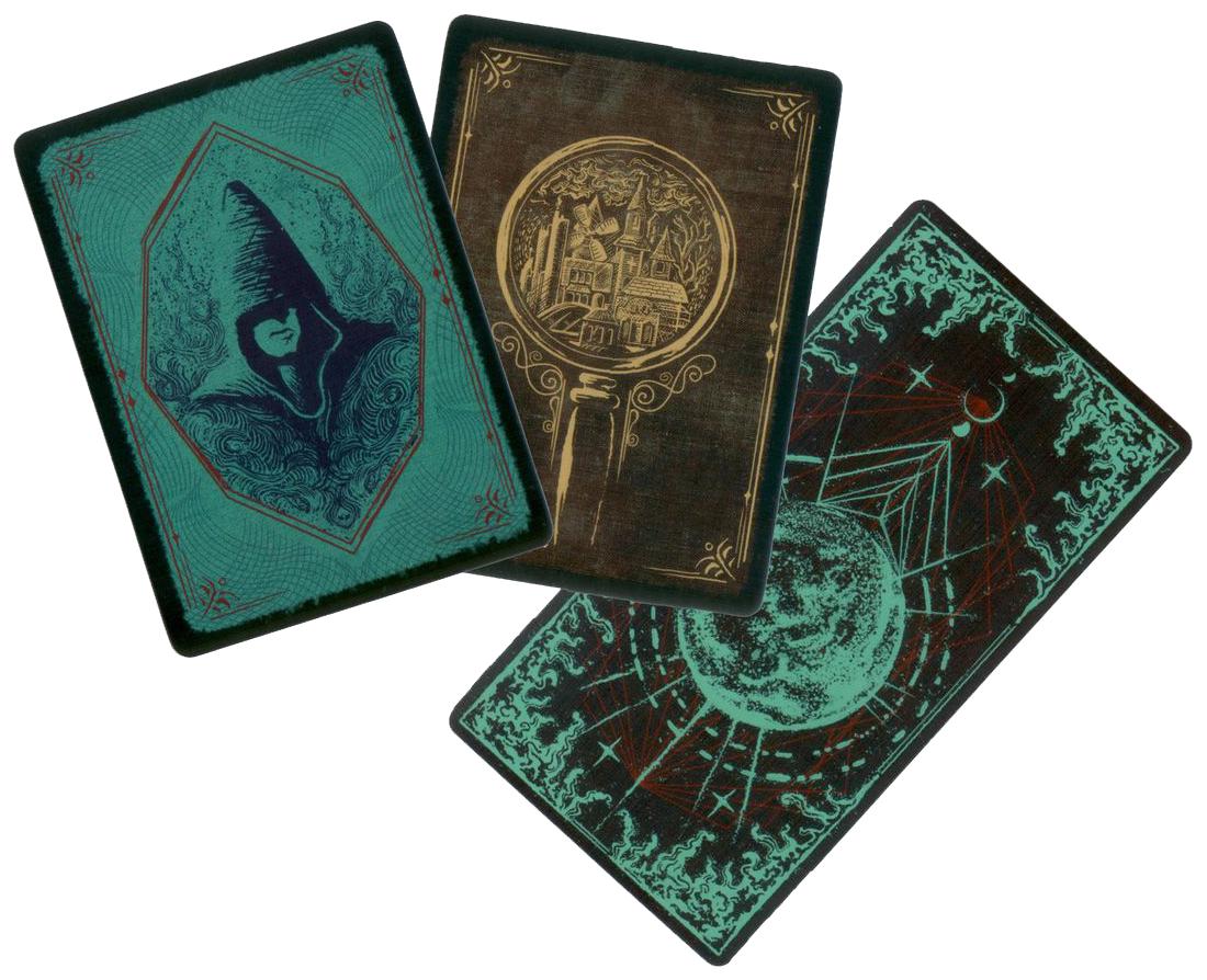 Pandemic, Le Règne de Cthulhu, (superbes) dos des cartes © Filosofia