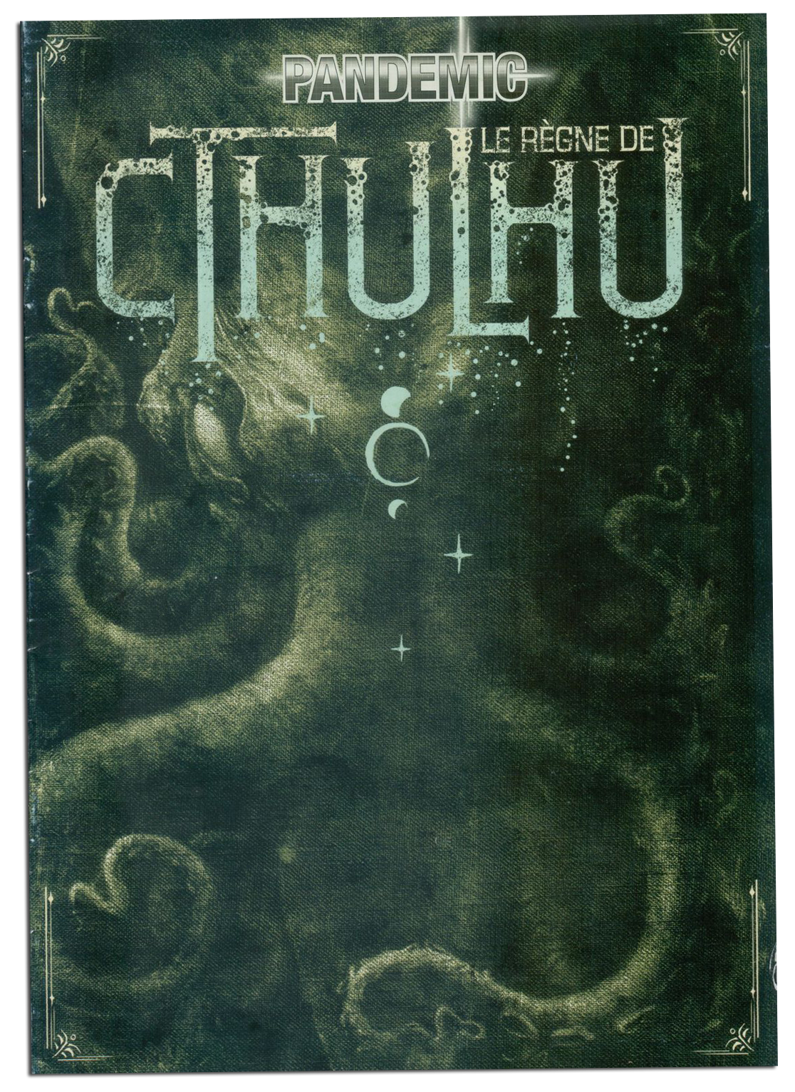 Pandemic, Le Règne de Cthulhu, couverture du livret de règle © Filosofia