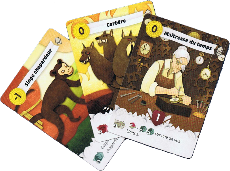 Paper Tales, cartes unités © Catch Up Games / Alcouffe
