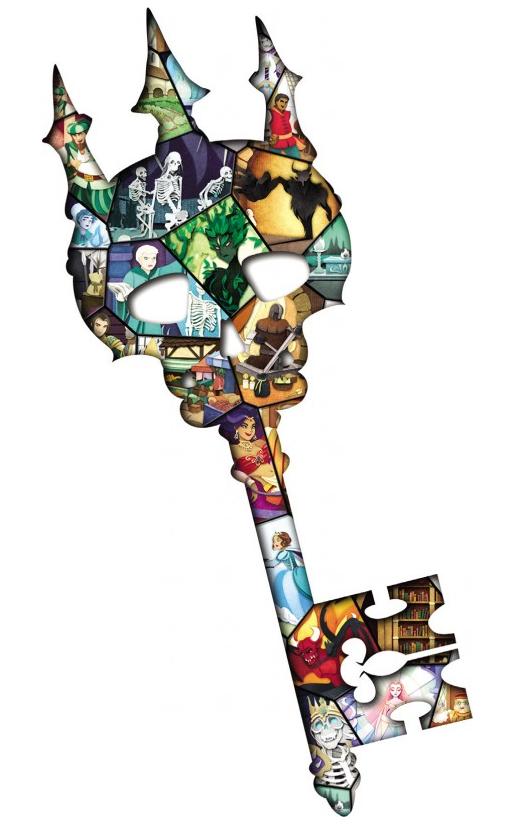 Paper Tales, Au Delà des Portes, la clef des Portes... © Catch Up Games / Alcouffe / Uesugi