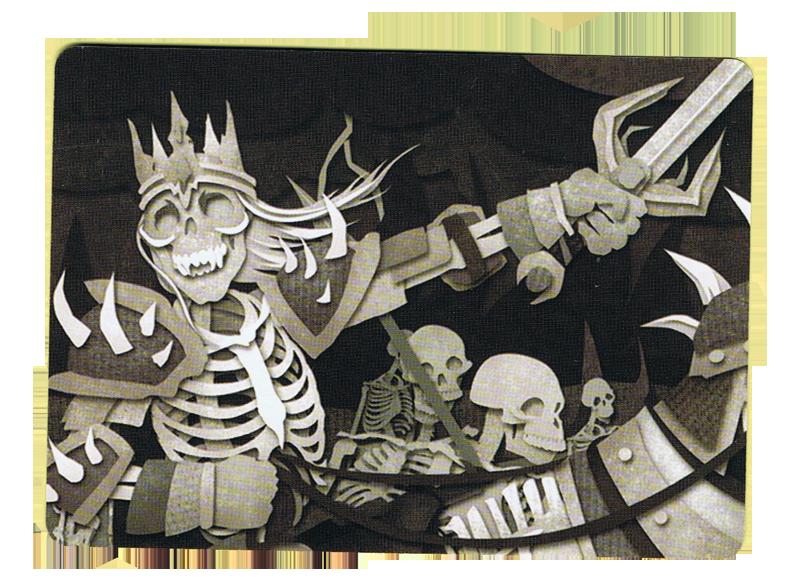 Paper Tales, Au Delà des Portes,le Roi Liche © Catch Up Games / Alcouffe / Uesugi
