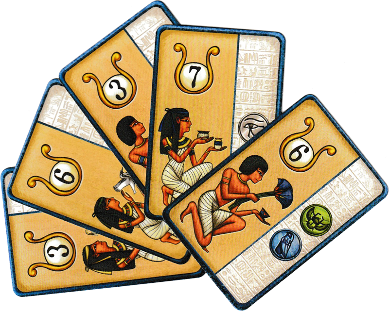 Pharaon, cartes Artisans © Catch Up Games