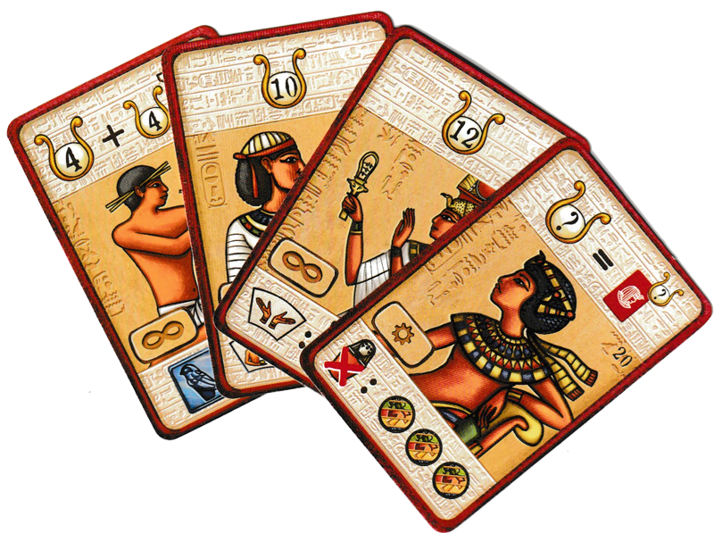 Pharaon, cartes Nobles © Catch Up Games