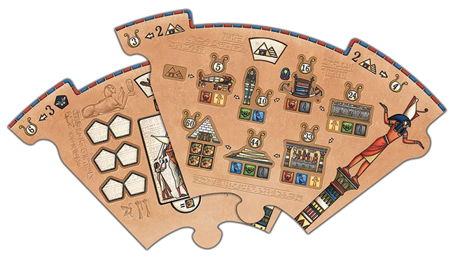 Pharaon, deux quartiers © Catch Up Games