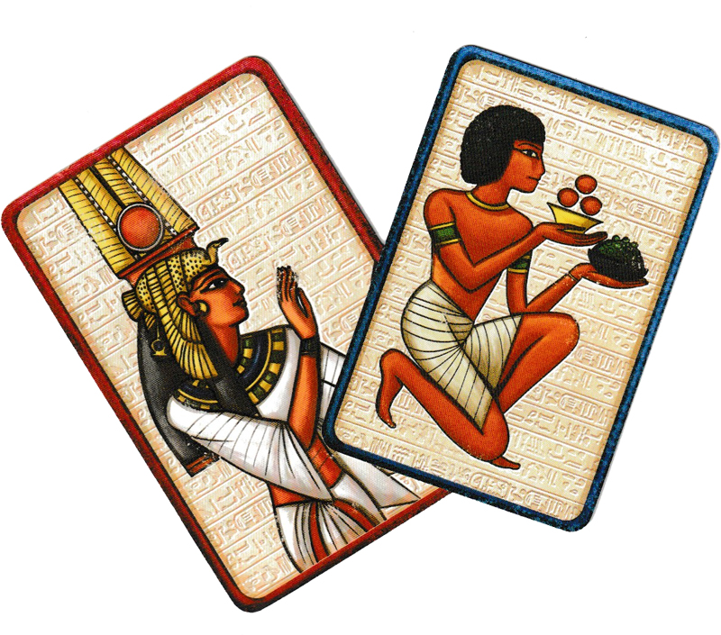 Pharaon, le dos des cartes © Catch Up Games
