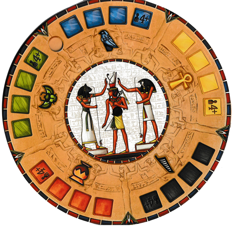 Pharaon, la roue centrale © Catch Up Games