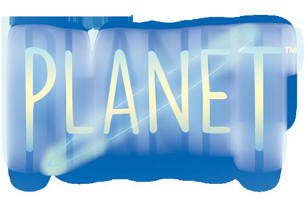 Planet, le Logo du jeu © Blue Orange / Miramon / Sulinskas
