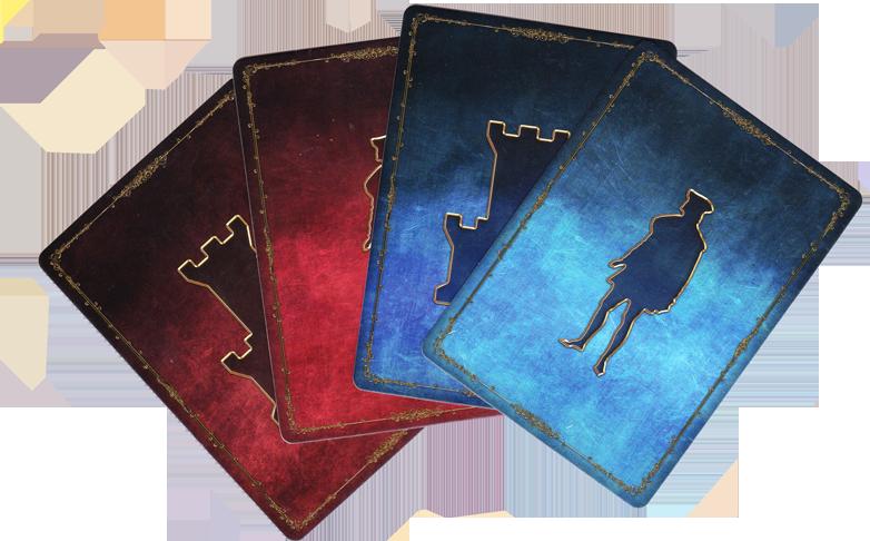 Roméo & Juliette, dos des cartes © Sylex / Cochard / Sahut / Prothière