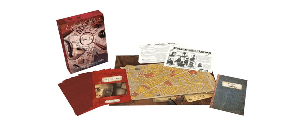 Sherlock Holmes - Détective Conseil, Jack l'Eventreur et Aventures à West End, aperçu du matériel © Space Cowboys