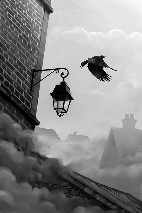 Sherlock Holmes - Détective Conseil, Jack l'Eventreur et Aventures à West End, illustration du jeu © Space Cowboys