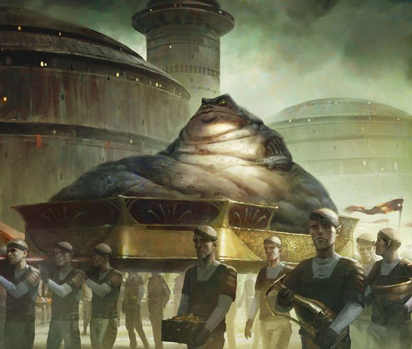 Star Wars : Aux Confins de l'Empire, les Barons de Nal Hutta, illustration © EDGE