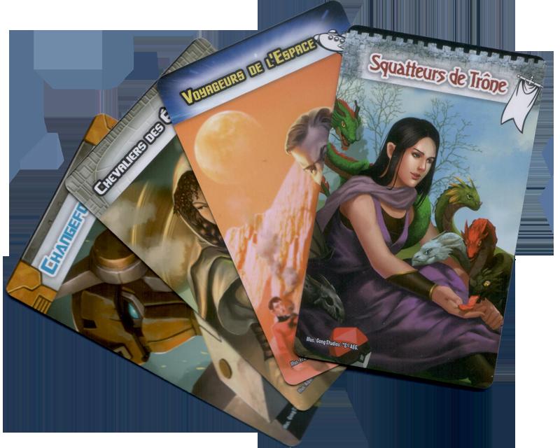 Smash Up, Ressemblances Fortuites, les 4 Fantastiques Factions © Iello