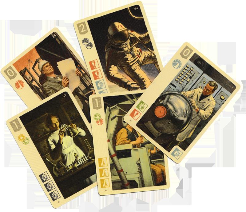 Space Explorers, de talentueux Spécialistes bardés de diplômes et de compétences © Blam! / Kot / Zhuravlev