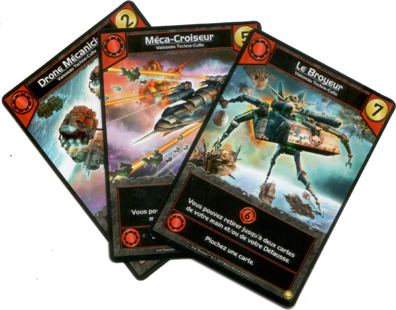 Star Realms, Colony War, de terrifiants nouveaux vaisseau Techno-Culte © Iello