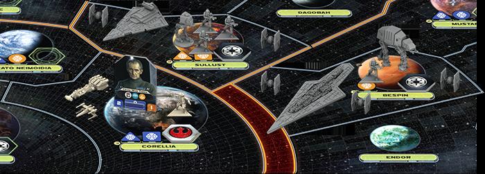 Star Wars : Rebellion, zoom © FFG