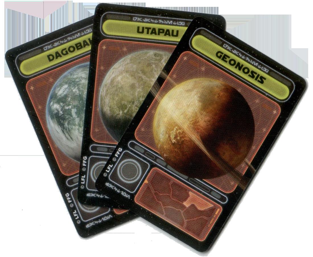 Star Wars : Rebellion, cartes Sonde © FFG