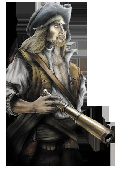 Terres Pirates, Le Baronnet © Roussignol Edition / Bécasse