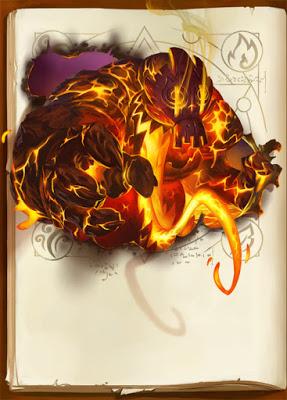 The Big Book of Madness, monstre du grimoire © IELLO / Naïade