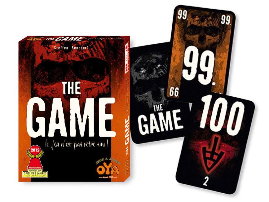 The Game, apperçu du matériel © Oya