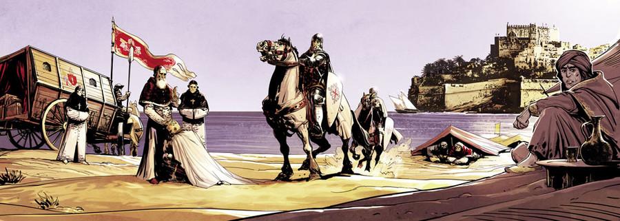 Time Stories, Lumen Fidei, sur la plage © Space Cowboys / Toulhoat