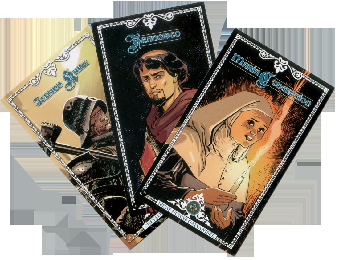 Time Stories, Lumen Fidei, 3 Réceptacles très pieux © Space Cowboys / Toulhoat