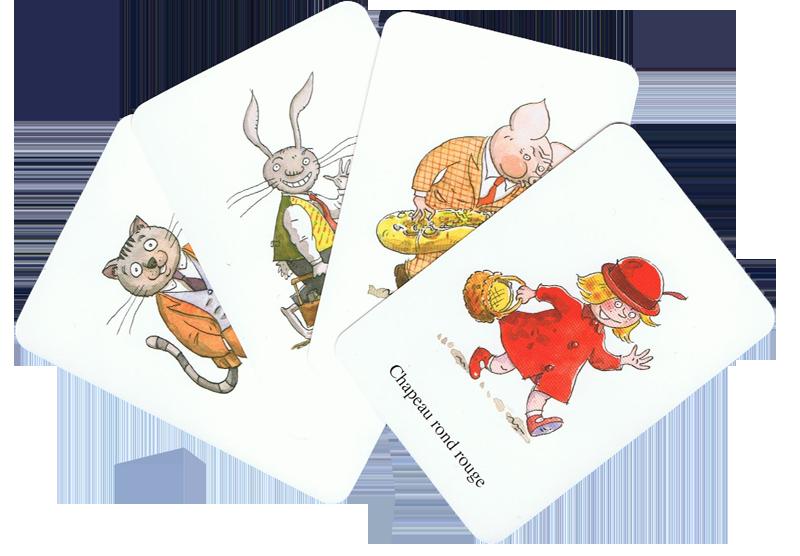 Toc! Toc! Toc!, cartes Invité © Ecole des Loisirs / Geoffroy de Pennart